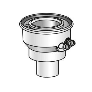 Adaptateur centrage pour conduit de Ø60/100-80/125