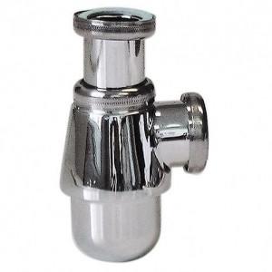 Siphon laiton Chromé pour tout type de lavabo PVC 32 1''1/4