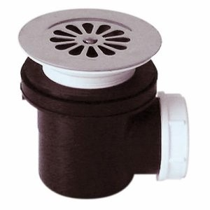 Bonde de douche à grille sh pr receveur Ø 60 mm