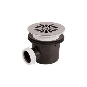 Bonde de douche à grille sh pr receveur Ø 90 mm