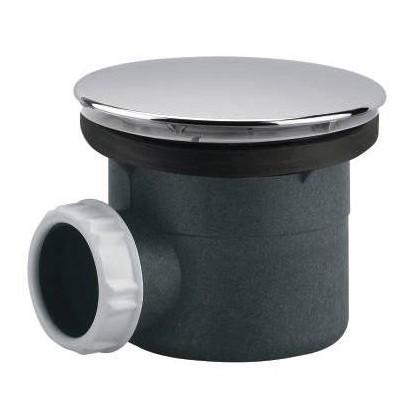Bonde à capot abs sh pr receveur en Ø 90 mm
