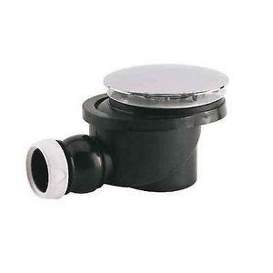 Bonde à capot métal sh pr receveur en Ø 90 mm