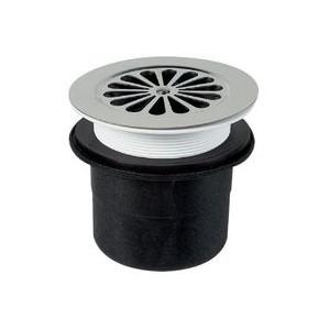 Bonde de douche à grille sv pr receveur Ø 90 mm
