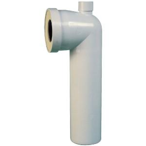 Pipe WC coudée longue 90° à repiquage