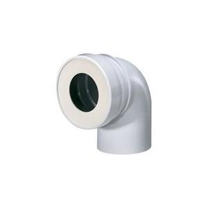 Pipe WC coudée 90° courte